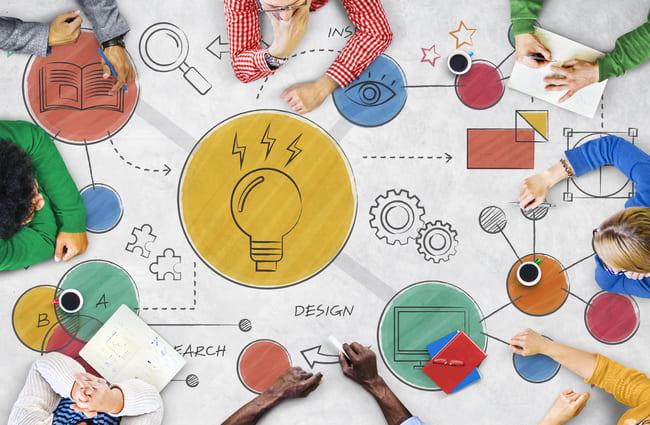Equipo humano generando acciones previas para crear sus estrategias de venta.